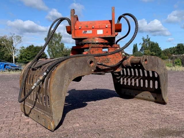 Zijtveld S1402-D   20 ~ 28 Ton   CW40   1600KG, Grijpers, Bouw