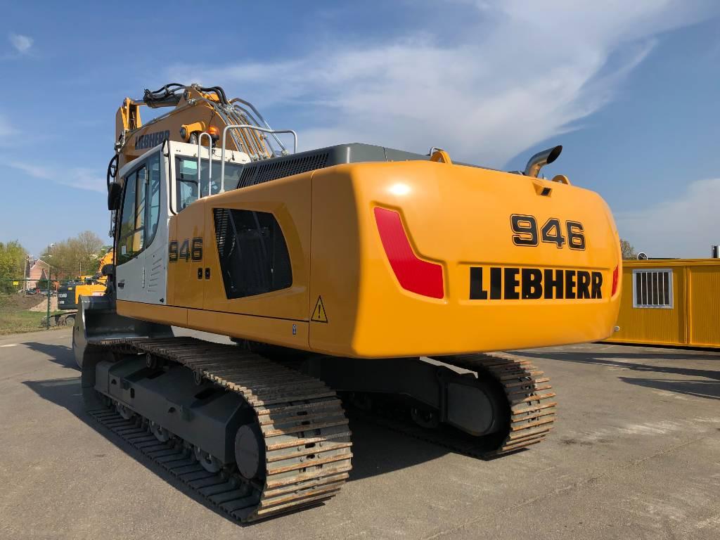 Liebherr R946 LC, Crawler excavators, Construction