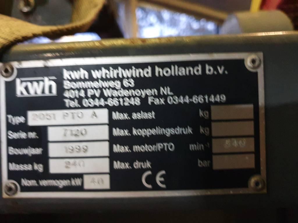 [Other] KWH 2051 PTO A, Aanbouwdelen voor compacttrekkers, Terreinbeheer