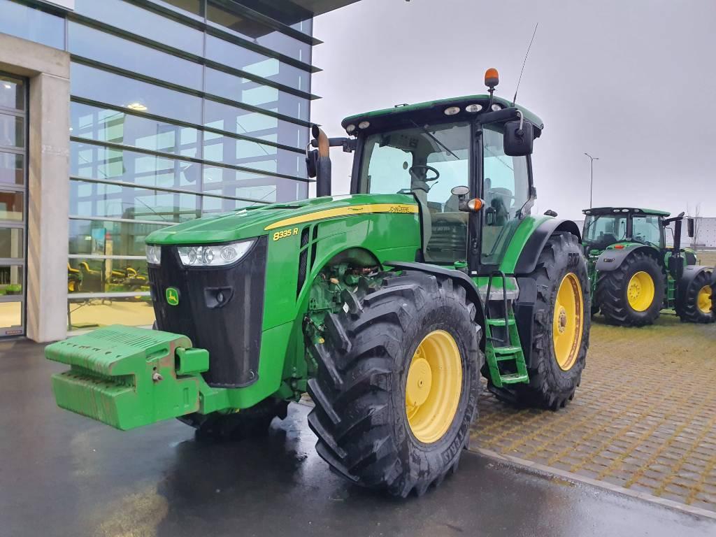 John Deere 8335 R, Traktorid, Põllumajandus