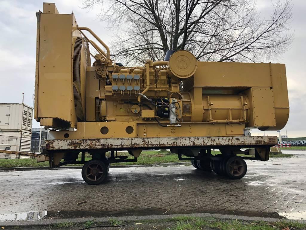 Caterpillar 3508 - Marine Generator Set - 625 kVa, Marine auxiliary engines, Construction
