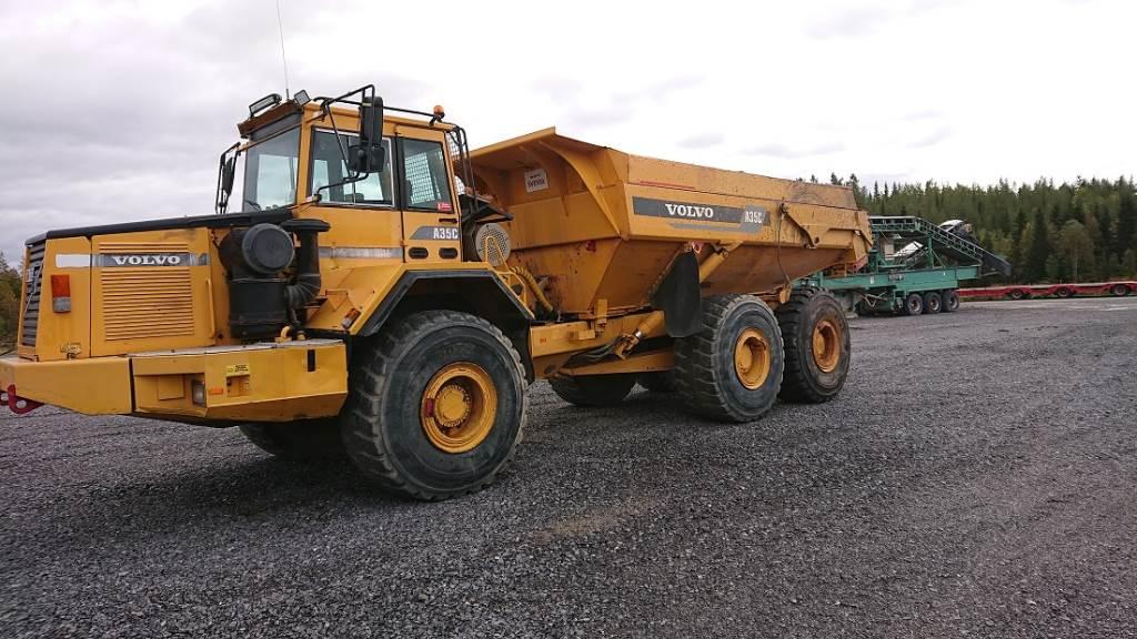 Volvo A 35 C 6x6, Midjestyrd dumper, Entreprenad