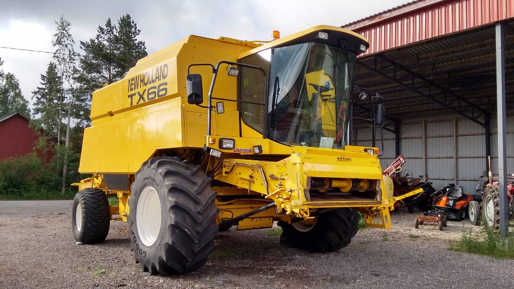 New Holland TX66 SLH, Leikkuupuimurit, Maatalous
