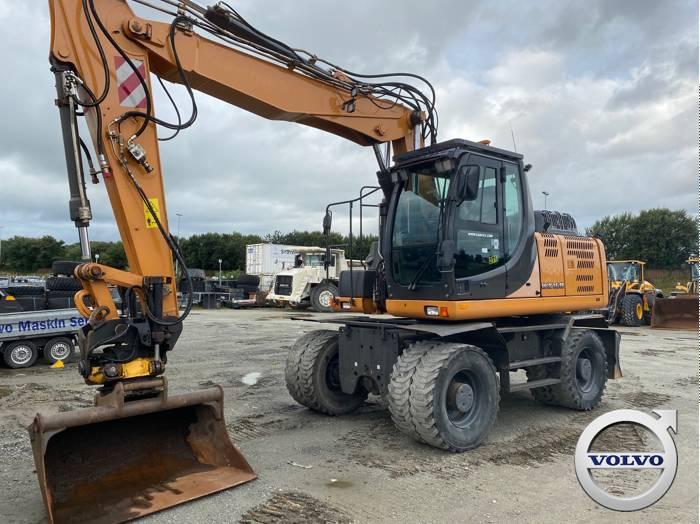 CASE WX 168, Wheeled Excavators, Construction Equipment