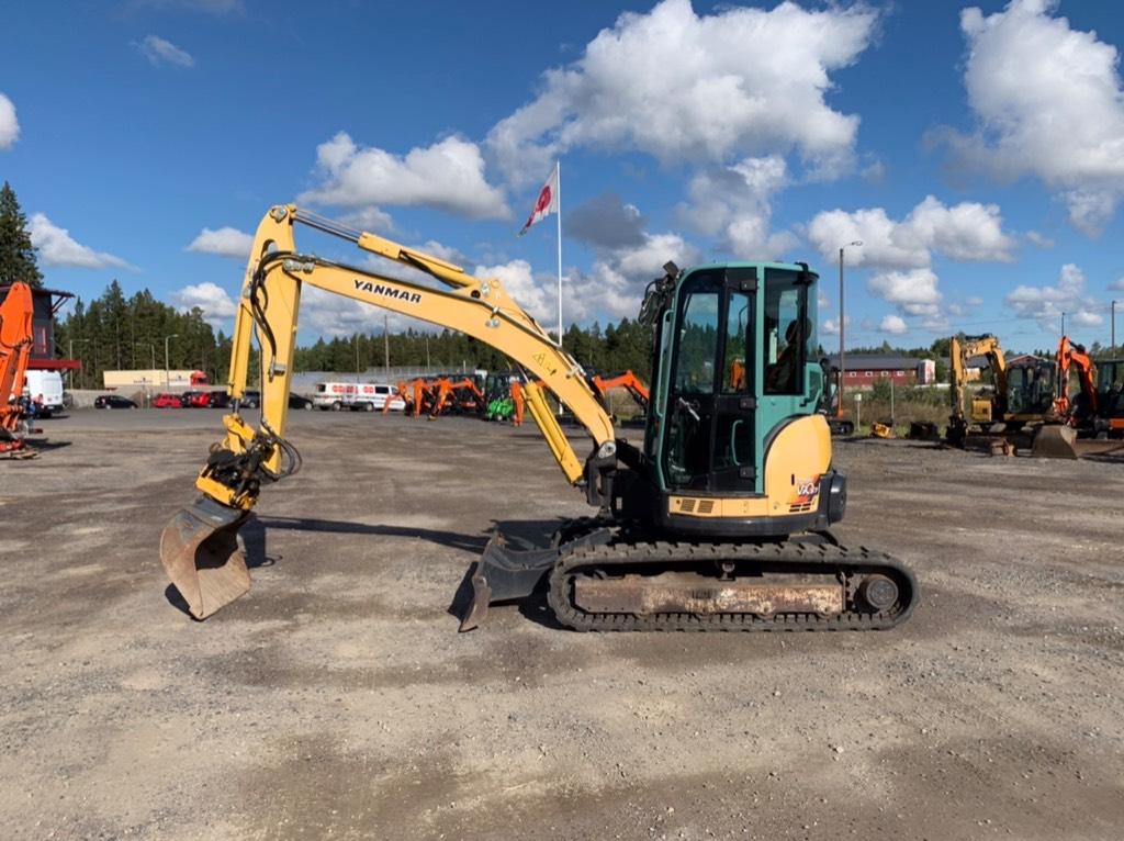 Yanmar Vio 57 U, Mini excavators < 7t (Mini diggers), Construction