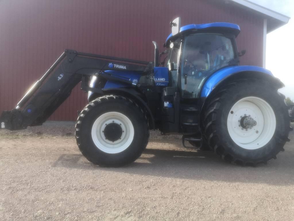 New Holland T7.250 PC 50, Traktorit, Maatalous