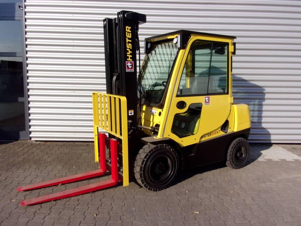 Hyster H3.0XT, Diesel Stapler, Flurförderzeuge