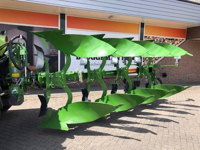 Amazone Cayros XMS 950 4 schaar wentelploeg, Reversible ploughs, Agriculture
