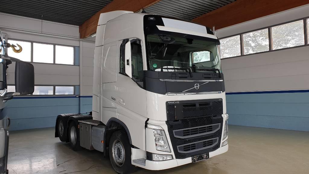 Volvo FH500-6X2, Vetopöytäautot, Kuljetuskalusto