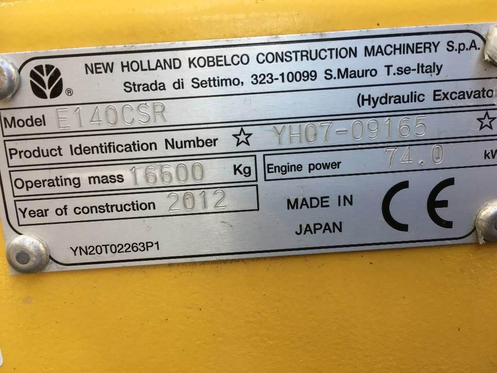 New Holland Kobelco E 140C SR, Bandgrävare, Entreprenad