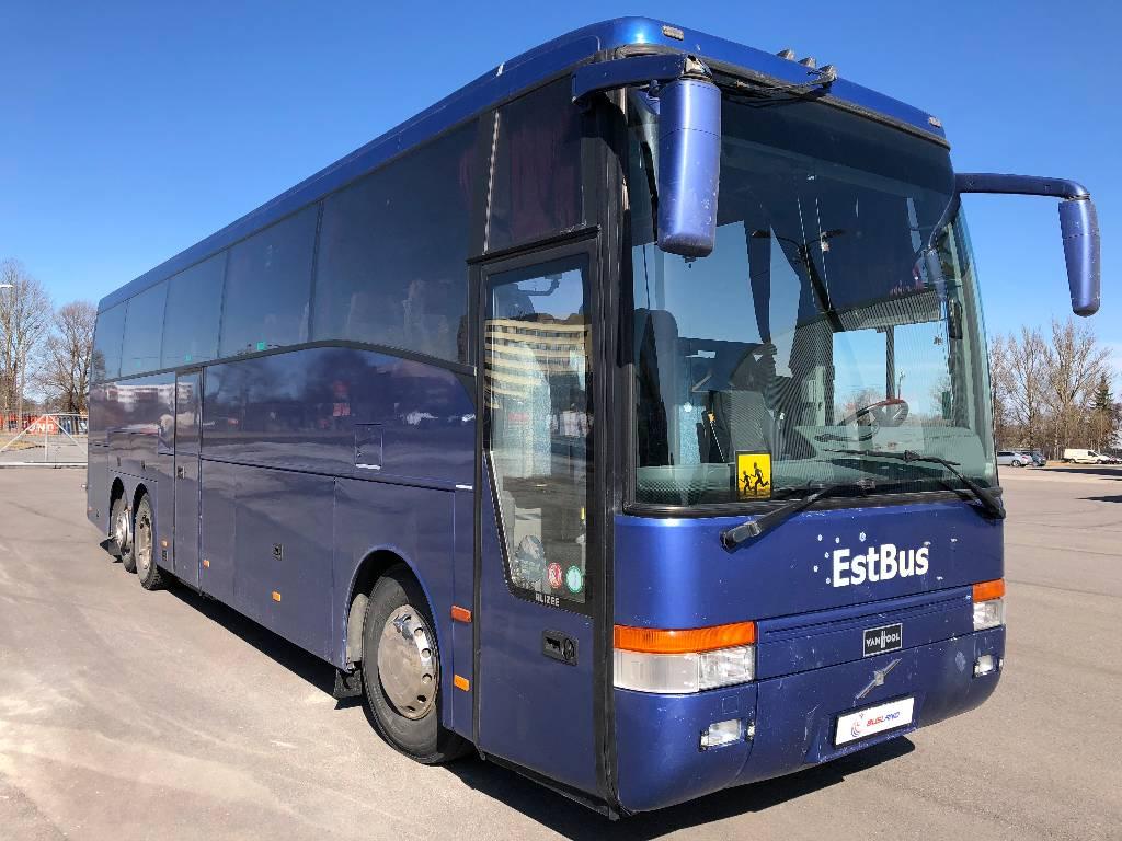Volvo Vanhool B12B, Kaugsõidubussid, Transport