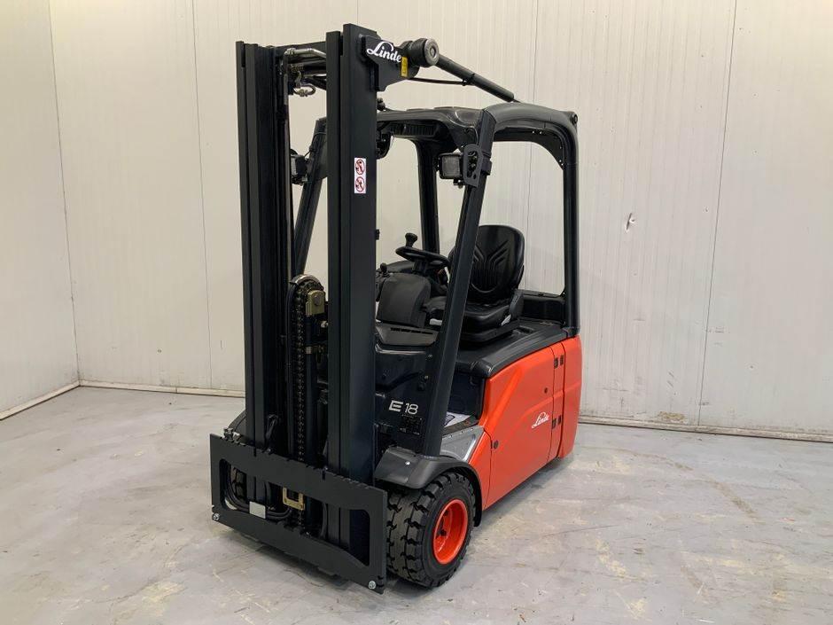 Linde E18 386 Serie, Electric Forklifts, Material Handling