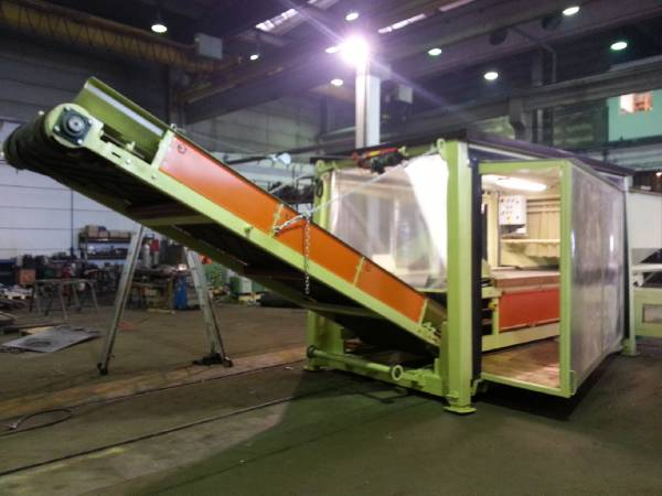 [Other] Mobil Ekop SK Wood chipper & waste recyclement mac, Waste sorting equipment, Construction