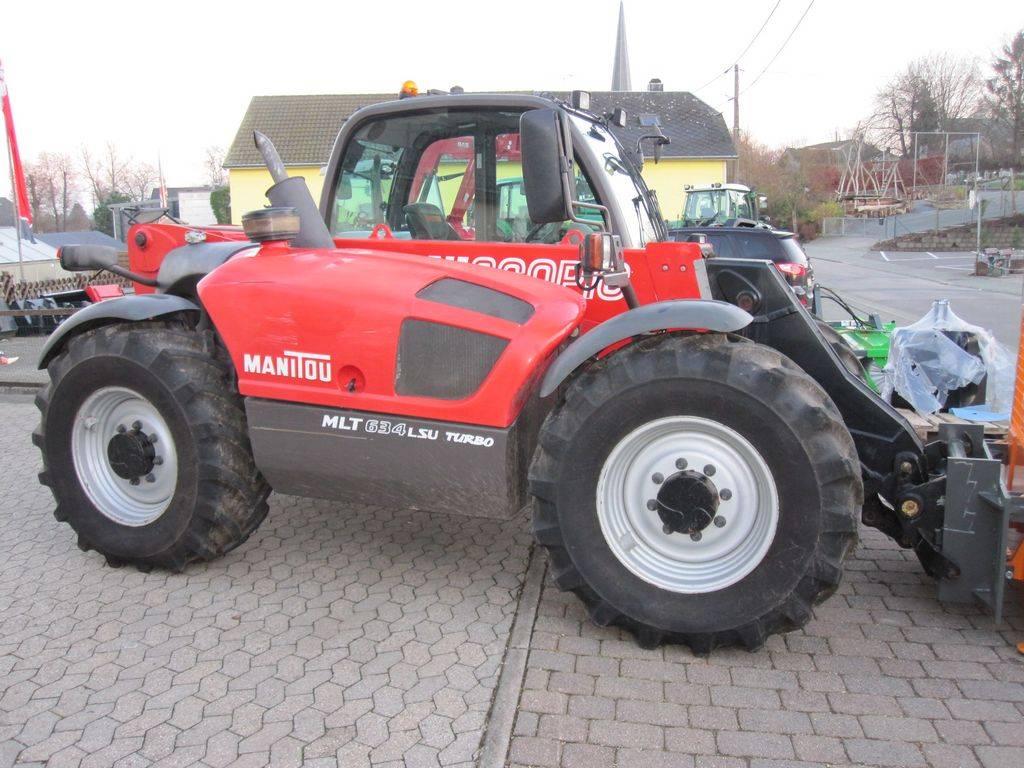 Manitou 634 LSA Turbo, Télescopique agricole, Agricole
