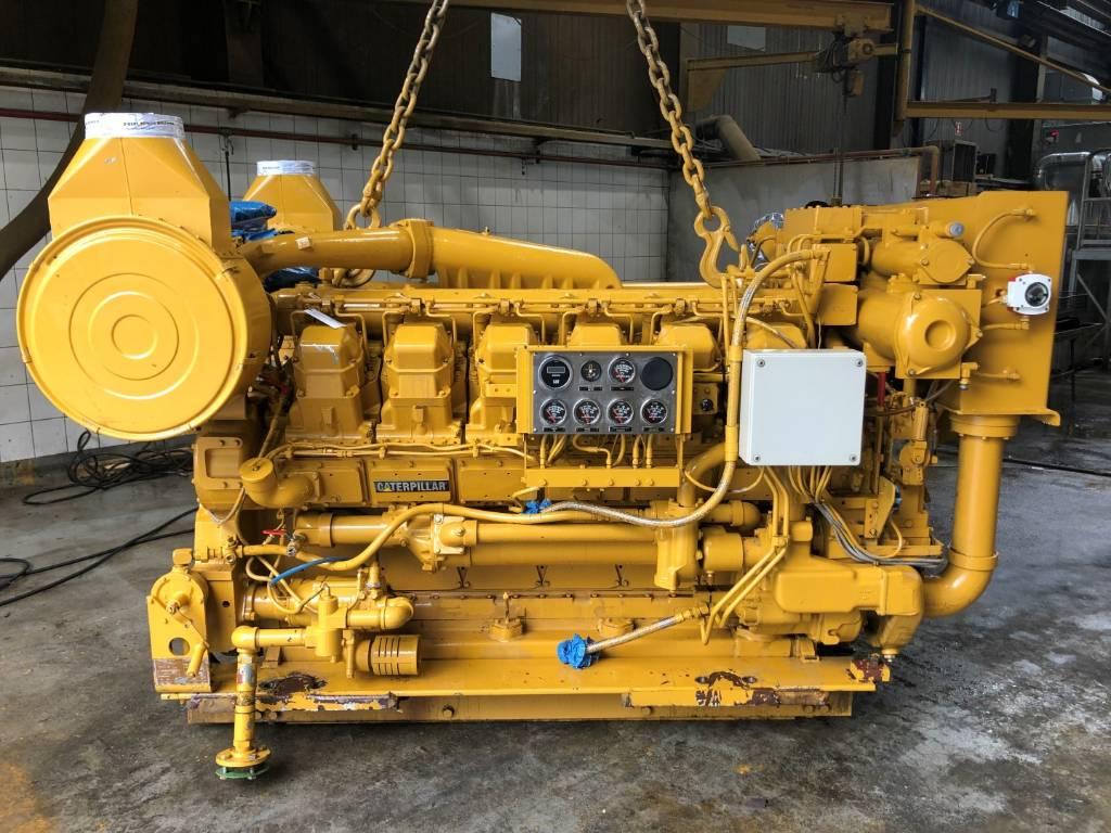 Caterpillar 3512 DITA - Marine Propulsion - 895 kW - 50Y, Marine Applications, Construction