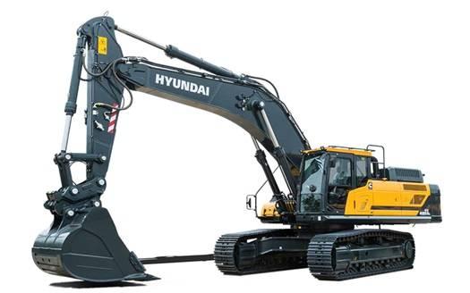 Hyundai HX 480 AL, Telakaivukoneet, Maarakennus