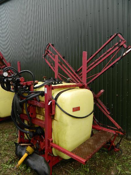 Hardi 800, Piekabināmie smidzinātāji(miglotāji), Lauksaimniecība