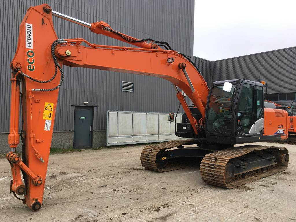 Hitachi ZX210LC-6, Crawler Excavators, Construction Equipment