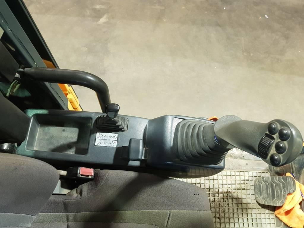 Hyundai R 160 W-9A rototilt, Pyöräkaivukoneet, Maarakennus