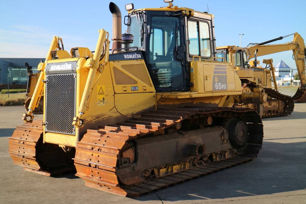 Komatsu D65PX, Dozers, Construction Equipment