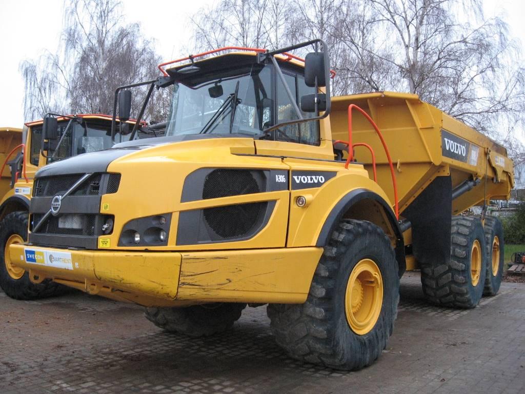 Volvo A 30 G, Articulated Dump Trucks (ADTs), Construction Equipment