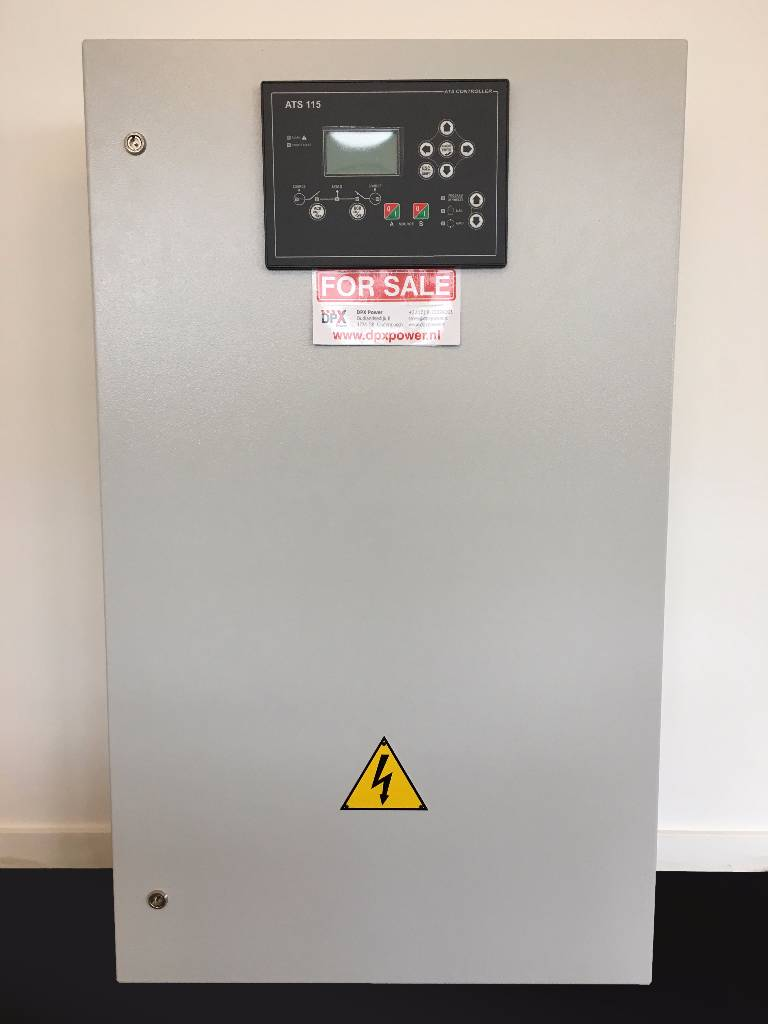 ATS Panel 400A - Max 275 kVA - DPX-27507, Anders, Bouw