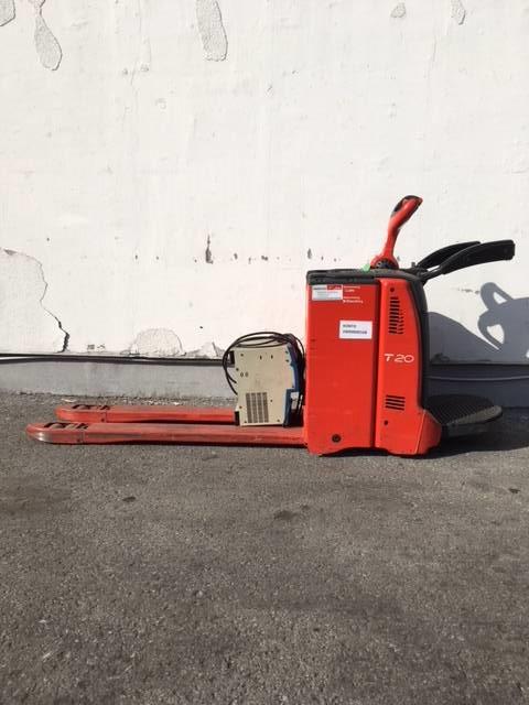 Linde T20AP/131, Low lifter with platform, Material Handling