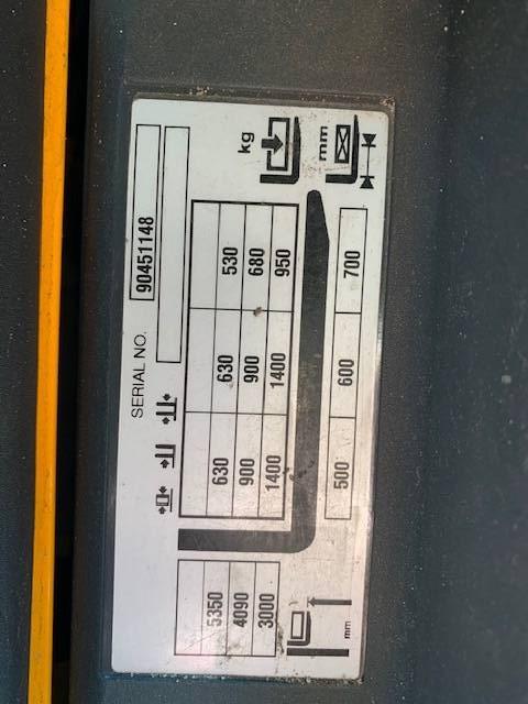 Jungheinrich ERC 214, Gaffelstabler med gående fører, Trucks