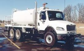 [Other] 3000 Gallon Water Truck TO134, Fuel Lube Trucks, Trucks and Trailers