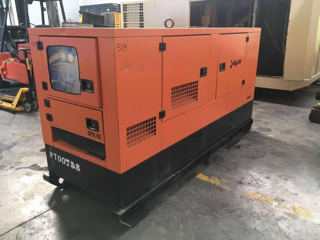 Gesan DPR 60, Generadores diesel, Construcción