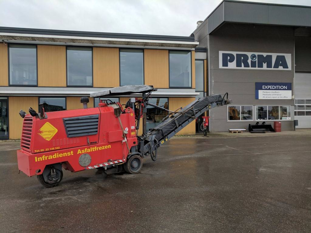 Wirtgen W500, Asphalt cold milling machines, Construction Equipment