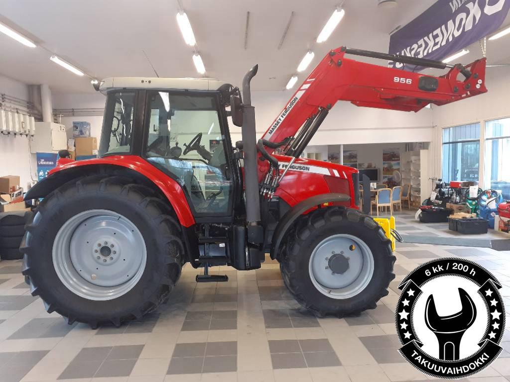 Massey Ferguson 6470 Dyna-6 + MF 956 etukuormaaja, Traktorit, Maatalous
