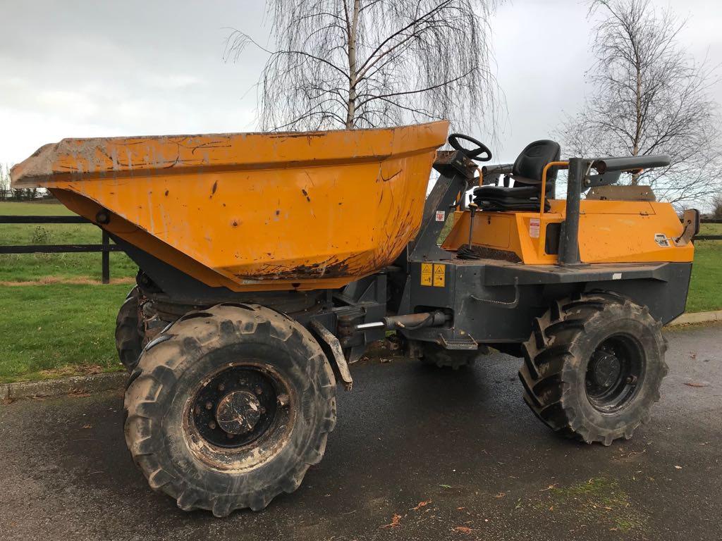 Terex PS 6000, Site dumpers, Construction