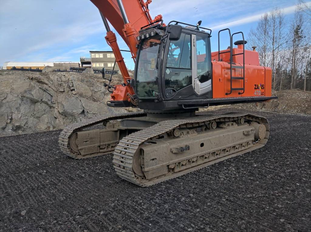 Hitachi ZX 470 LC H-3, Crawler Excavators, Construction Equipment