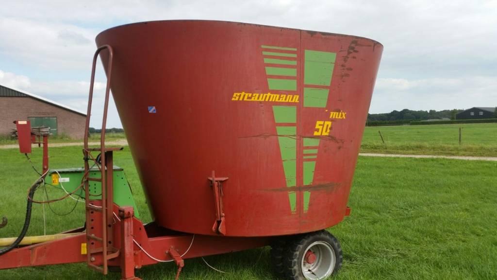 Strautmann Vertimix 1250, Mengvoedermachines, Landbouw