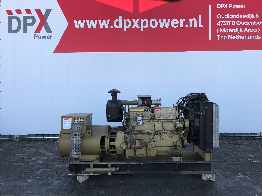 DAF DKTD 1160AG - 122 kVA Generator - DPX-11304, Diesel generatoren, Bouw