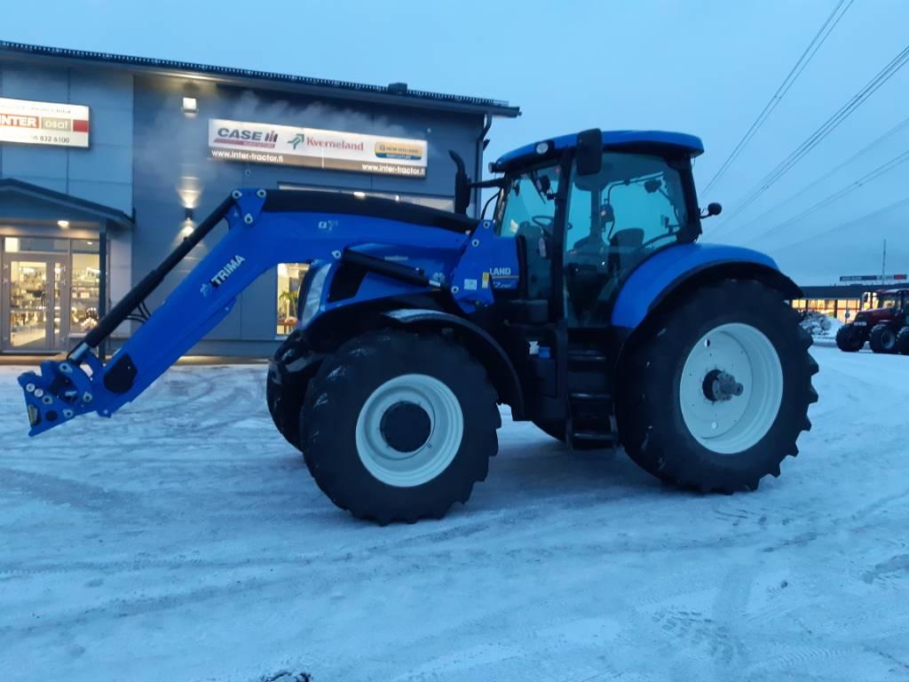 New Holland T 7.250 AC, Traktorit, Maatalous