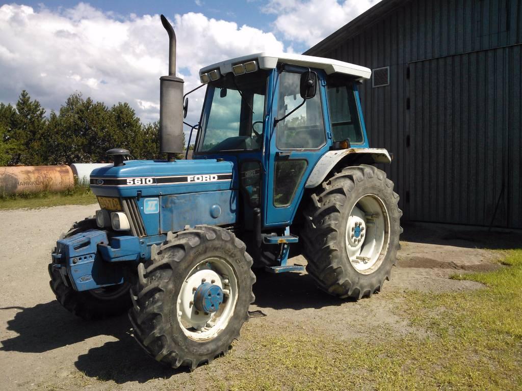 Ford 5610 MKII, Traktorit, Maatalous