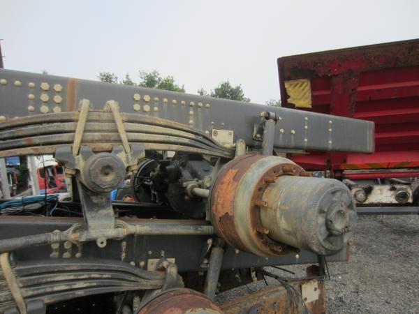 SCANIA AXELCASES / RB660 / R780 / RBP735 / RP735 / RP835, Aksler, Transport