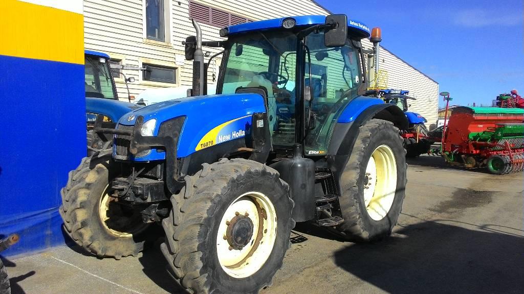 New Holland T 6070 Elite, Traktorid, Põllumajandus