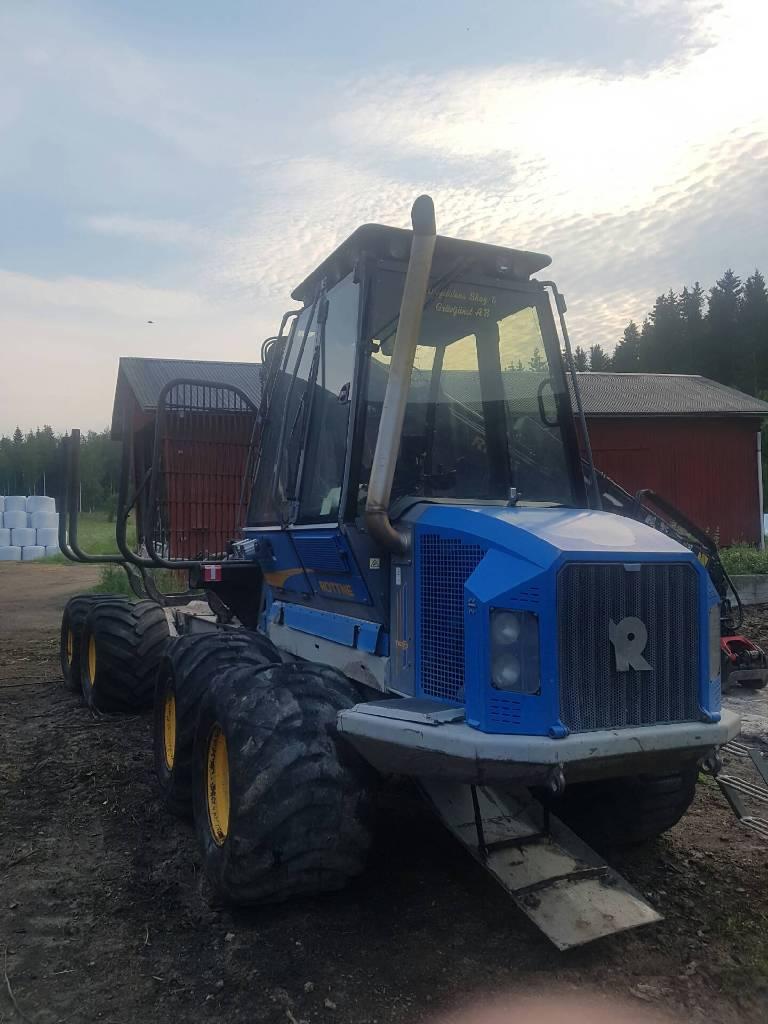Rottne F10B, Skotare, Skogsmaskiner