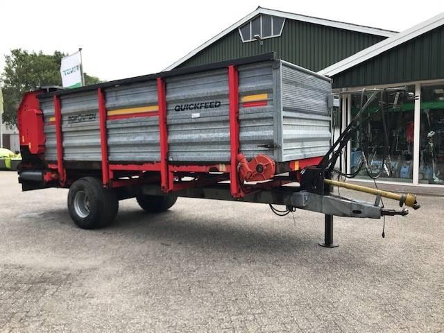 Schouten VDW 130 A voerdoseerwagen, Voermachines, Landbouw