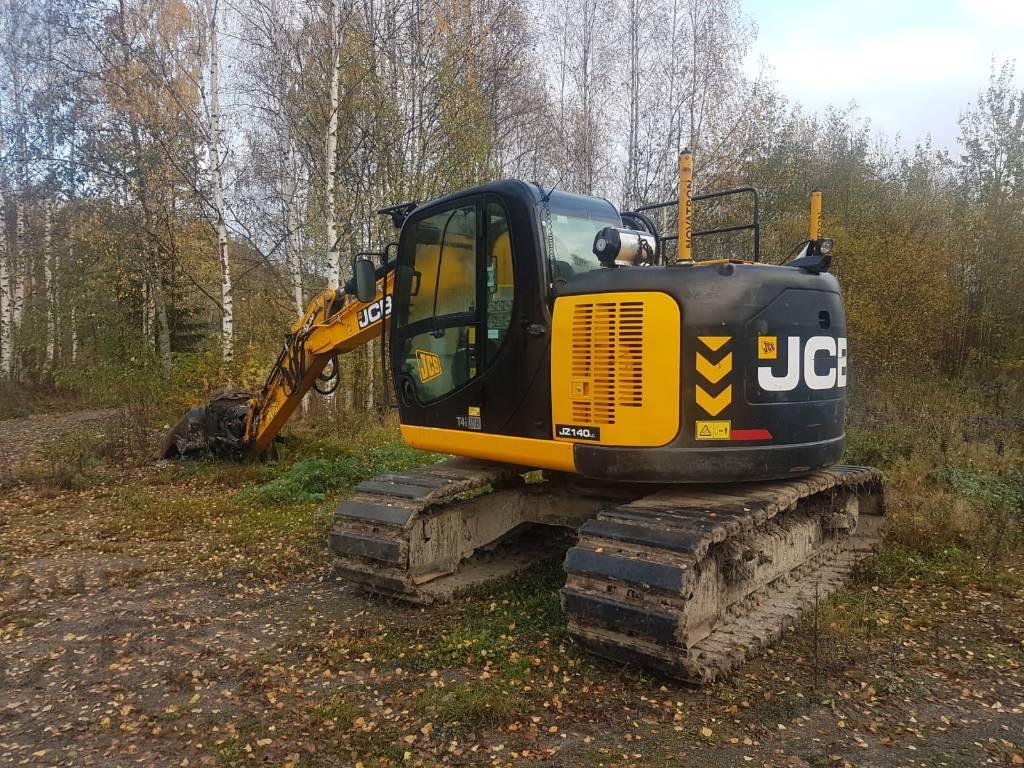 JCB JZ 140 LC, Telakaivukoneet, Maarakennus