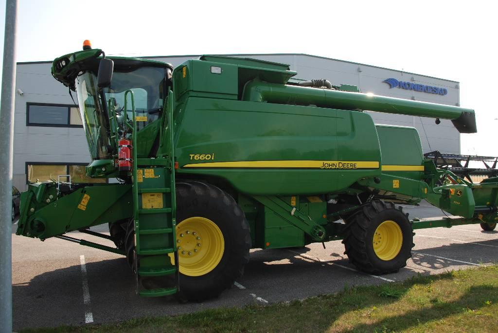 John Deere T 660 i ProDrive, Kombainid, Põllumajandus