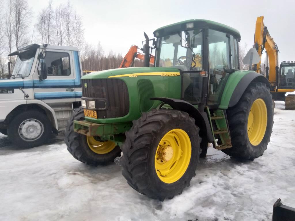 John Deere 6520 SE, Traktorit, Maatalous