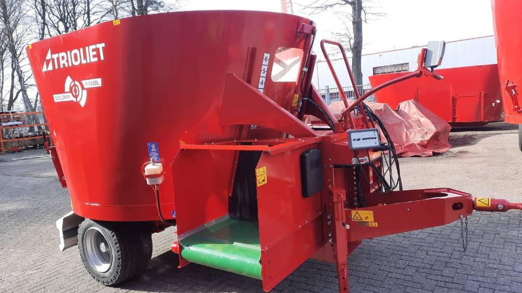 Trioliet Solomix 1 1000 L VLH B, Voermengwagens getrokken, Landbouw