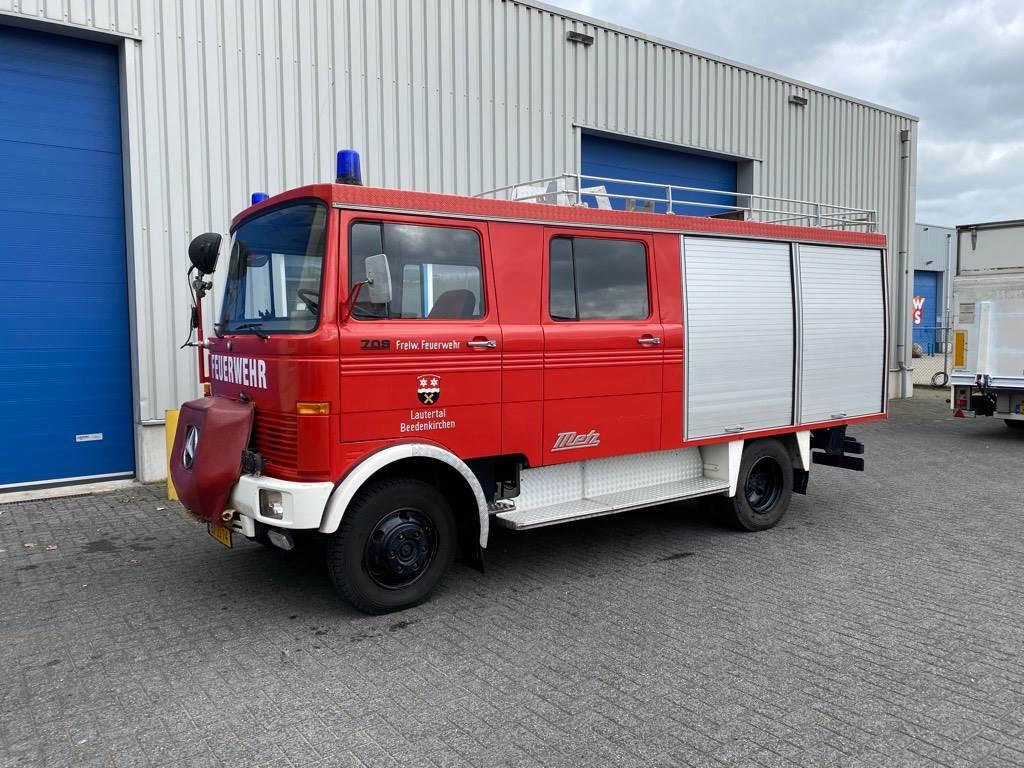 Mercedes-Benz LP 709, Metz, Brandweer, Feuerwehr, MARGE, Gesloten bedrijfswagens, Transport