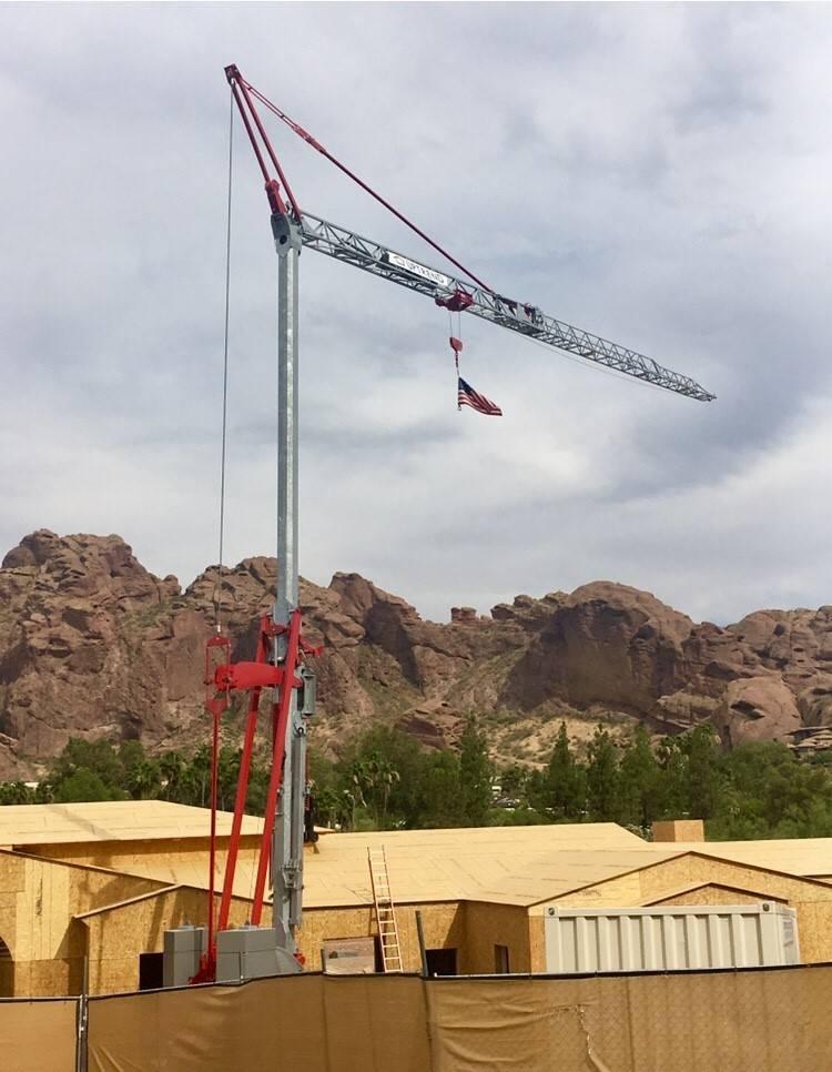 Potain IGO MA 21, Tower Cranes, Construction Equipment