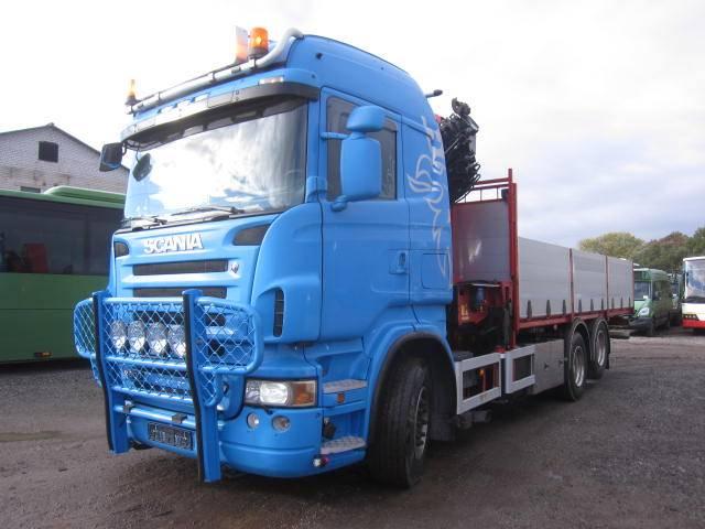 Scania R500 6x2, Boom / Crane / Bucket Trucks, Trucks and Trailers