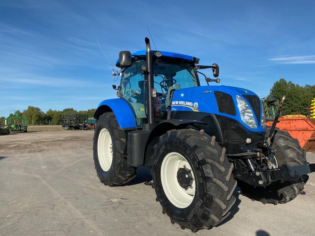 New Holland T7.170 AC, TG med fronlyft, Traktorer, Lantbruk